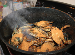 Seasoning Crabs